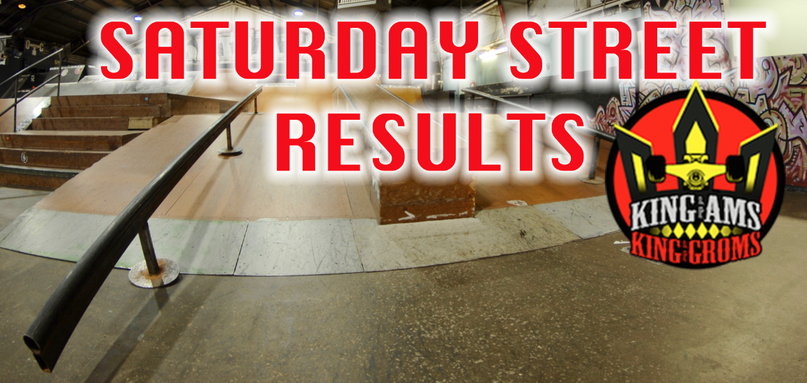 2016 STREET QUALIFIER RESULTS